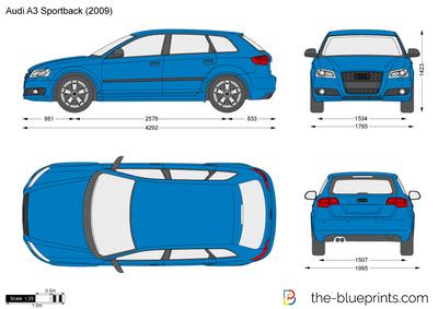 Audi A3 Sportback (2009)