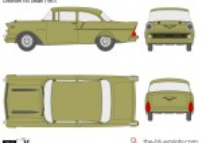 Chevrolet 150 2-Door Sedan (1957)