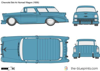 Chevrolet Bel-Air Nomad Wagon