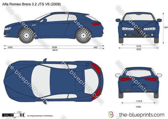 Alfa Romeo Brera 3.2 JTS V6