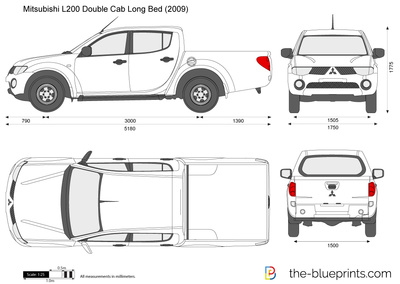 Mitsubishi L200 Double Cab Long Bed
