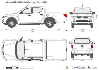Mitsubishi L200 Double Cab Long Bed