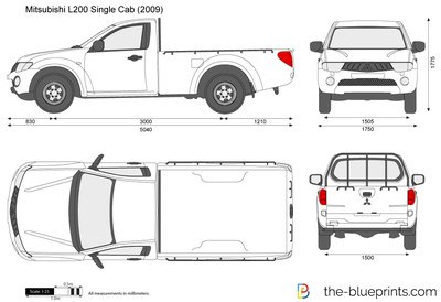 Mitsubishi L200 Single Cab