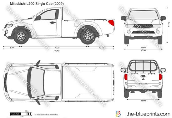 Mitsubishi L200 Single Cab