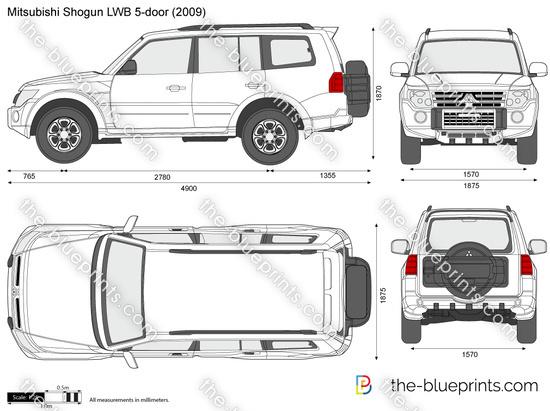 Mitsubishi Shogun / Pajero LWB 5-door