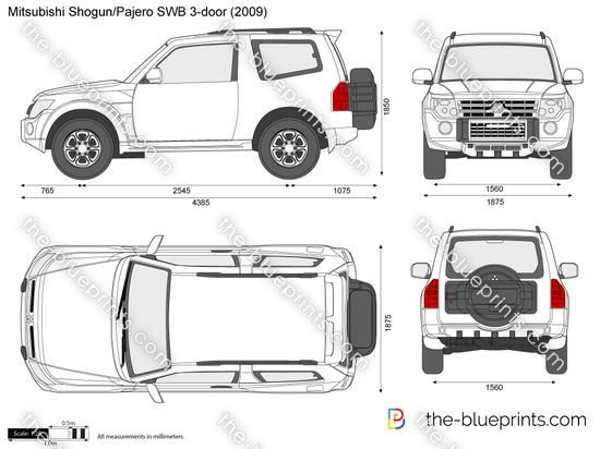 Mitsubishi Shogun / Pajero SWB 3-door