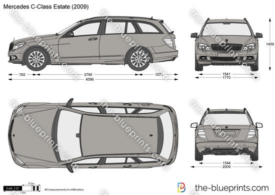 Mercedes-Benz C-Class Estate W204