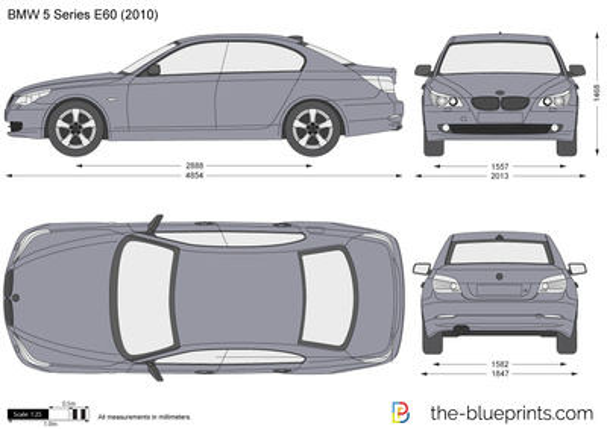 BMW 5-Series Sedan E60