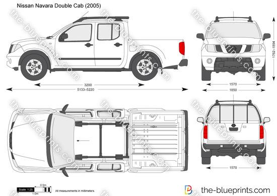 Nissan Navara Pick Up Dimensions