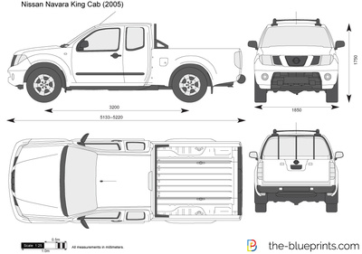 2018 Nissan Frontier King Cab >> Nissan Navara King Cab vector drawing
