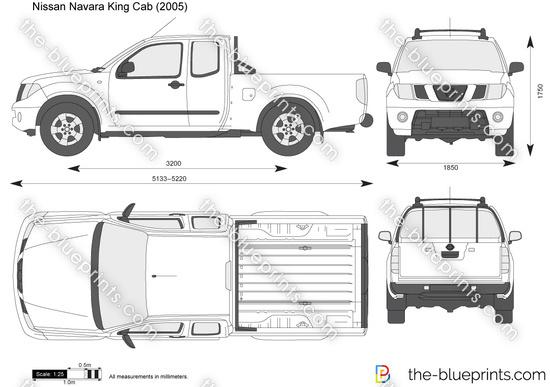 Nissan navara d40 king cab dimensions
