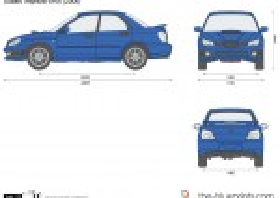 Subaru Impreza WRX (2006)
