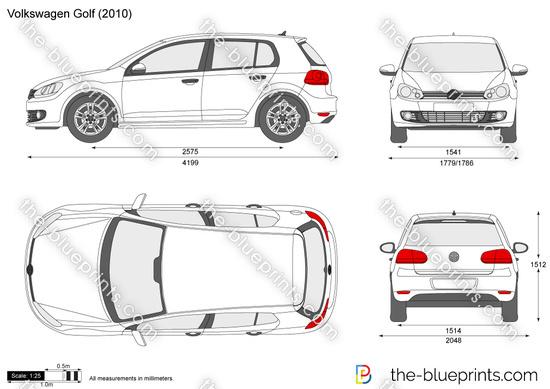 Blueprints cars volkswagen volkswagen gol g5 2010 volkswagen golf malvernweather Gallery