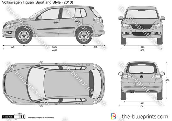 Volkswagen Tiguan 'Sport and Style'