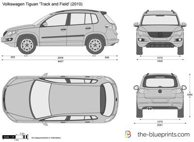 Volkswagen Tiguan 'Track and Field'