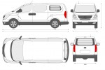 Hyundai H-1 3-seater Panel Van