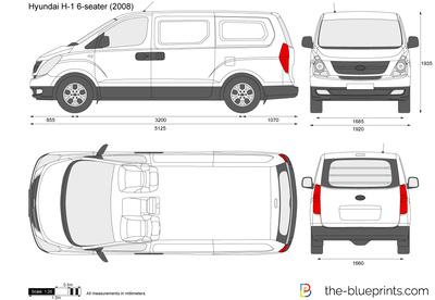 Hyundai H-1 6-seater Panel Van