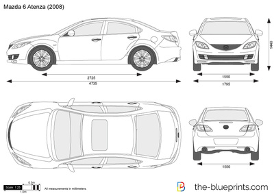 Mazda 6 Atenza Sedan