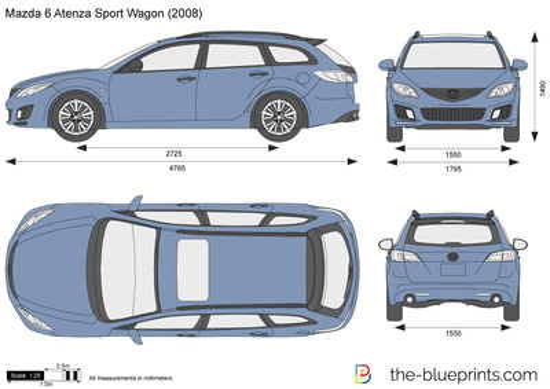 Mazda 6 Atenza Sport Wagon
