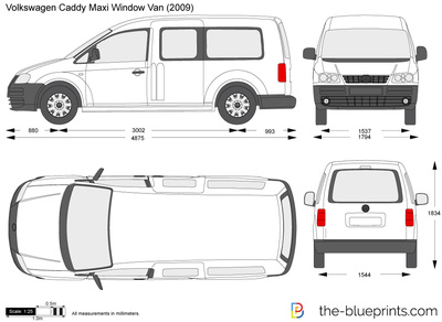 Volkswagen Caddy Maxi Window Van