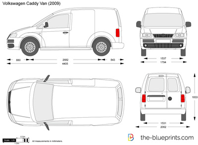blueprints cars volkswagen volkswagen caddy life 2006. Black Bedroom Furniture Sets. Home Design Ideas