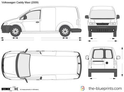 Volkswagen Caddy Panel Van Maxi