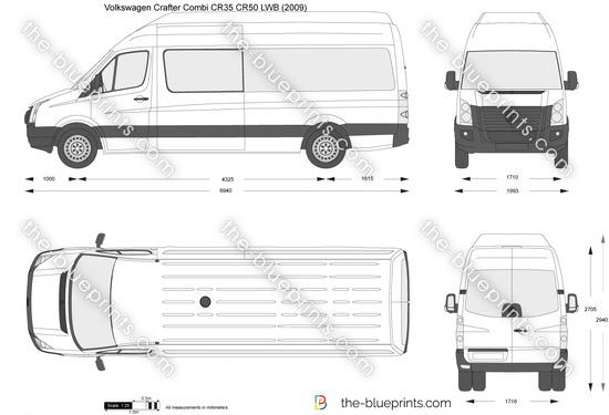 Volkswagen Crafter Combi CR35 CR50 LWB