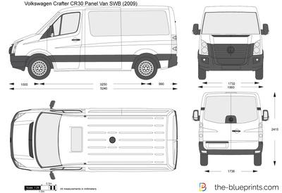 Volkswagen Crafter CR30 Panel Van SWB
