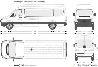 Volkswagen Crafter Window Van LWB