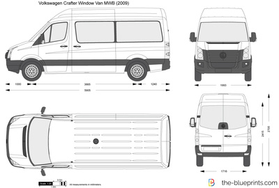 Volkswagen Crafter Window Van MWB