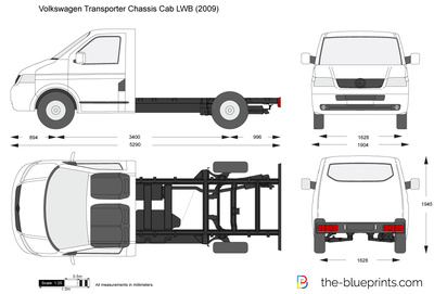 Volkswagen Transporter T5 Chassis Cab LWB