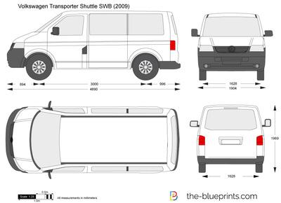 Volkswagen Transporter Shuttle SWB