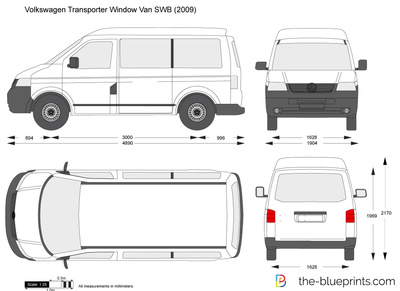 Volkswagen Transporter Window Van SWB