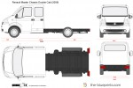 Renault Master Chassis Double Cab