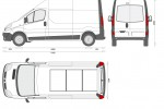 Renault Trafic Panel Van High Roof LWB