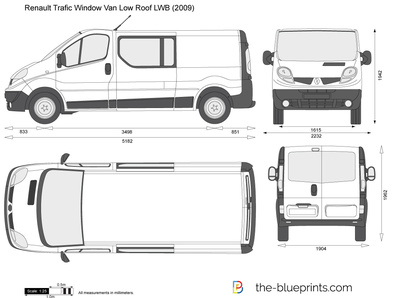Renault Trafic Window Van Low Roof LWB