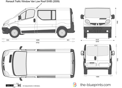 Renault Trafic Window Van Low Roof SWB