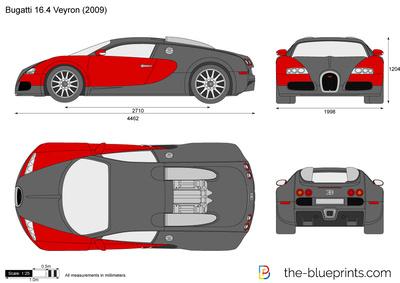 Bugatti 16-4 Veyron (2008)