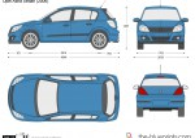 Opel Astra H 5-Door Hatch