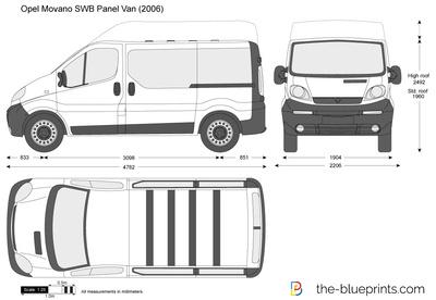 Opel Vivaro SWB Panel Van