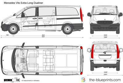Mercedes-Benz Vito Extra Long Dualiner