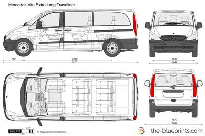 Mercedes-Benz Vito Extra Long Traveliner