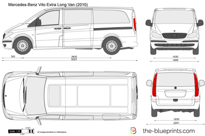 Mercedes-Benz Vito Extra Long Van