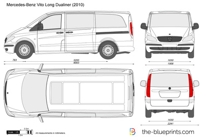 Mercedes-Benz Vito Long Dualiner