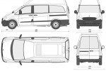 Mercedes-Benz Vito Long Hi Roof Dualiner