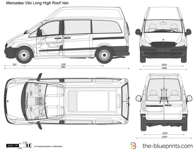 Mercedes-Benz Vito Long High Roof Van