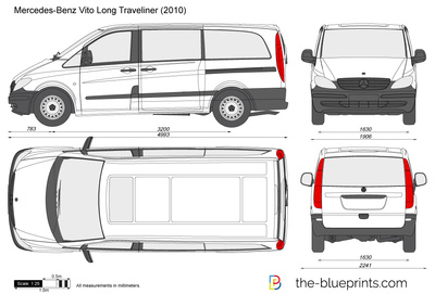 Mercedes-Benz Vito Long Traveliner