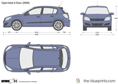 Opel Astra H 5-Door