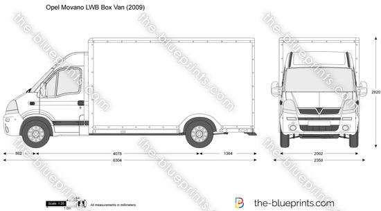 Opel Movano LWB Box Van