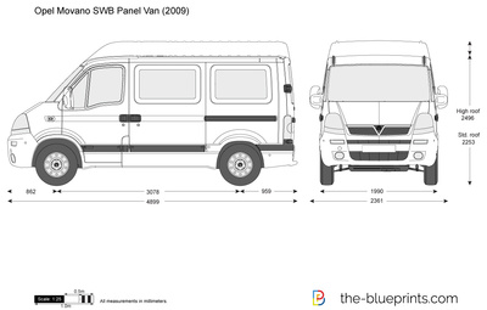 Opel Movano SWB Panel Van